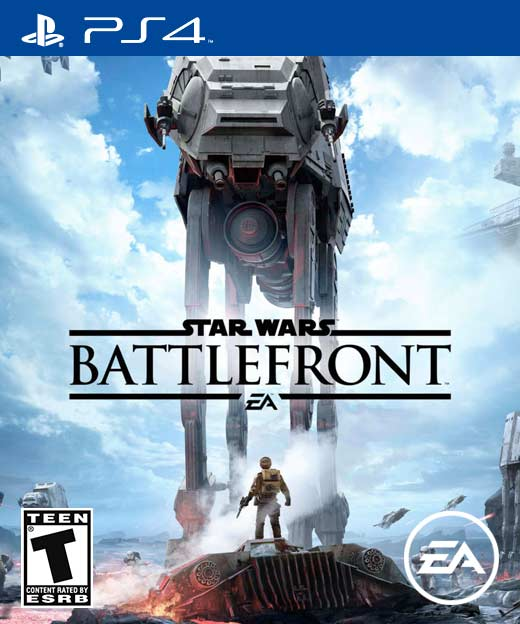 PS4 Battlefront cover