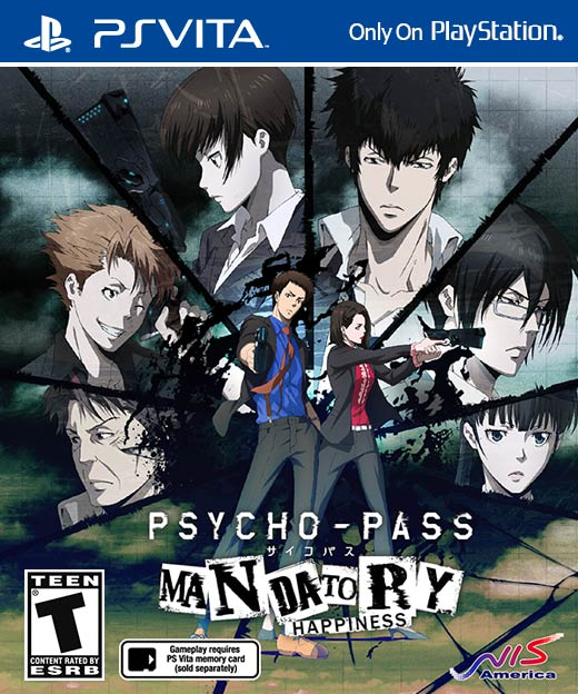 Psycho Pass Mandatory Happiness cover