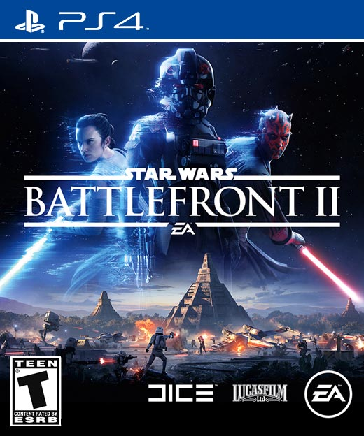 Star Wars Battlefront II PS4 cover