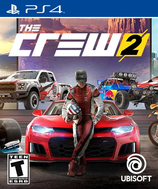 The Crew 2 cover